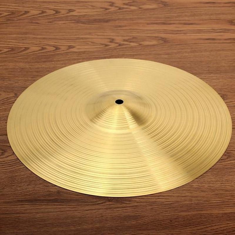 Drum kit brass cymbal 14 inch Gold - intl