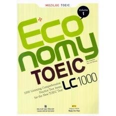 Chiết Khấu Sản Phẩm Economy Toeic Lc 1000 Vol 1 Kem Cd