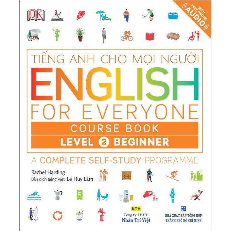 Mua English for Everyone – Level 2 Beginner – Course Book (kèm CD)