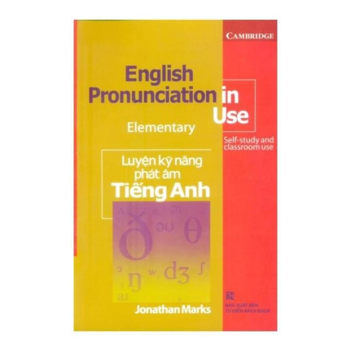 English Pronunciation In Use Elementary - Luyện Kỹ Năng Phát Âm Tiếng Anh (Kèm CD)