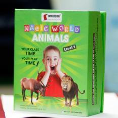 Bán Flash Card 4D Magic World Giúp Trẻ Học Tiéng Anh Say Me Smartcom Trực Tuyến