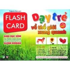 Chiết Khấu Flash Card Dạy Trẻ Về Thế Giới Xung Quanh Hà Nội