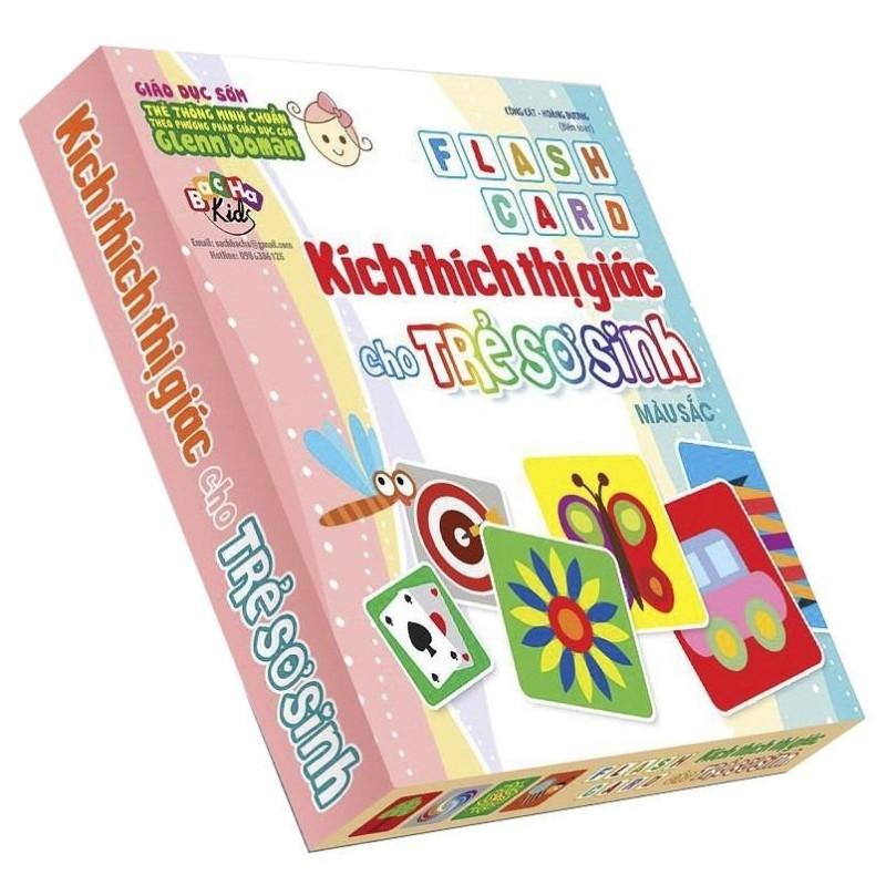 Mua Flash Card Kích Thích Thị Giác Cho Trẻ Sơ Sinh 4 – Màu Sắc
