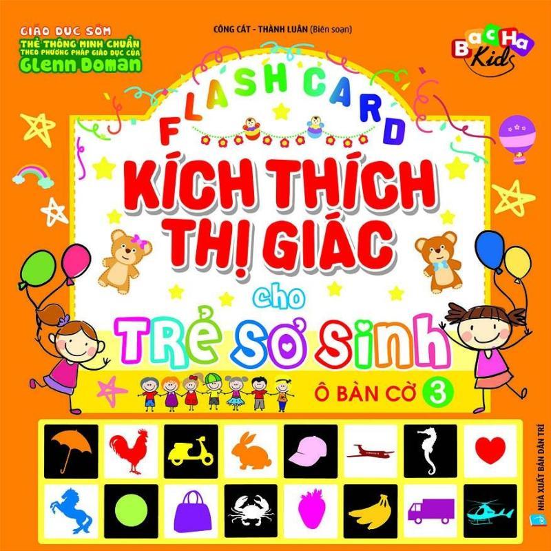 Mua Flashcard Dạy Trẻ Theo Phương Pháp Glenn Doman - Kích Thích Thị Giác Cho Trẻ Sơ Sinh 3 - Ô Bàn Cờ