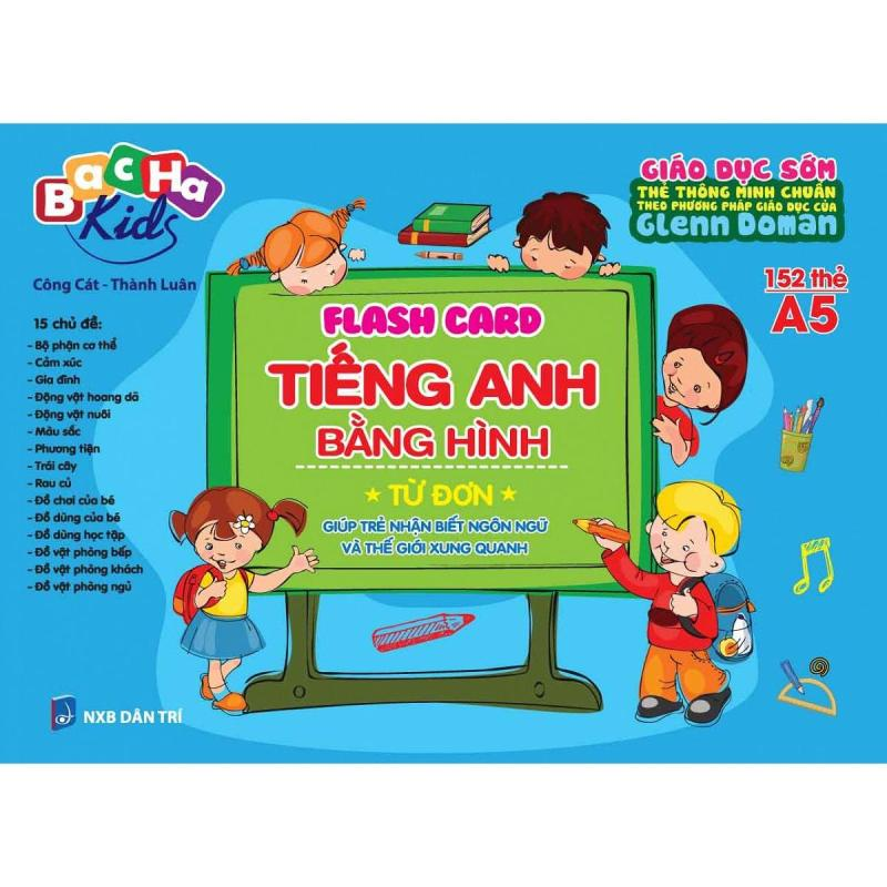 Mua Flashcard Dạy Trẻ Theo Phương Pháp Glenn Doman - Tiếng Anh Bằng Hình - Từ Đơn