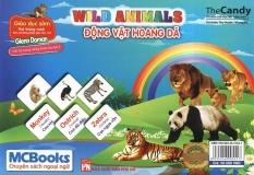 Flashcard Wild Animals - Động Vật Hoang Dã By Pasteur Bookstore.
