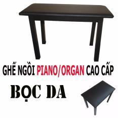 Ghế Ngồi Đan Piano Organ Em Bọc Da Cao Cấp Rẻ