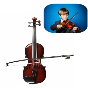HOT New 4/4 Full Size Kids High Quality Simulation Toys Violin Demo Educational Musical