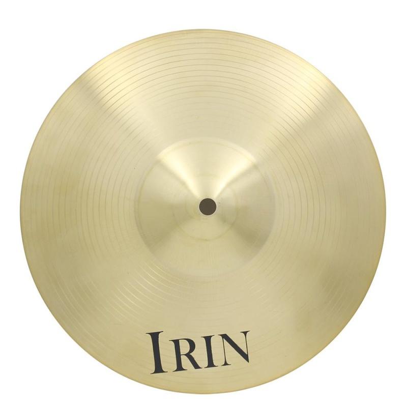 IRIN 16 inch Đồng Hợp Kim Vụ Tai Nạn Đi Xe Hi-Hat Kiêm La Bàn cho Bộ Trống-quốc tế
