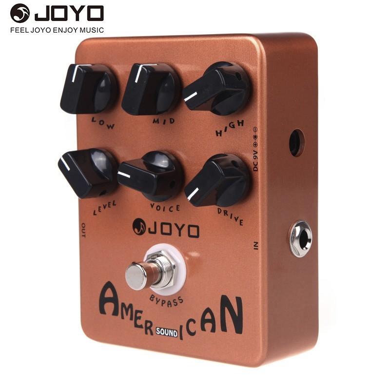 JO-YO JF-14 Mỹ Âm Thanh Guitar Amp Giả Lập Hiệu Ứng Bàn Đạp-quốc tế