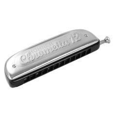 Giá Bán Ken Harmonica Chromatic Hohner Chrometta 12 Bạc Mới