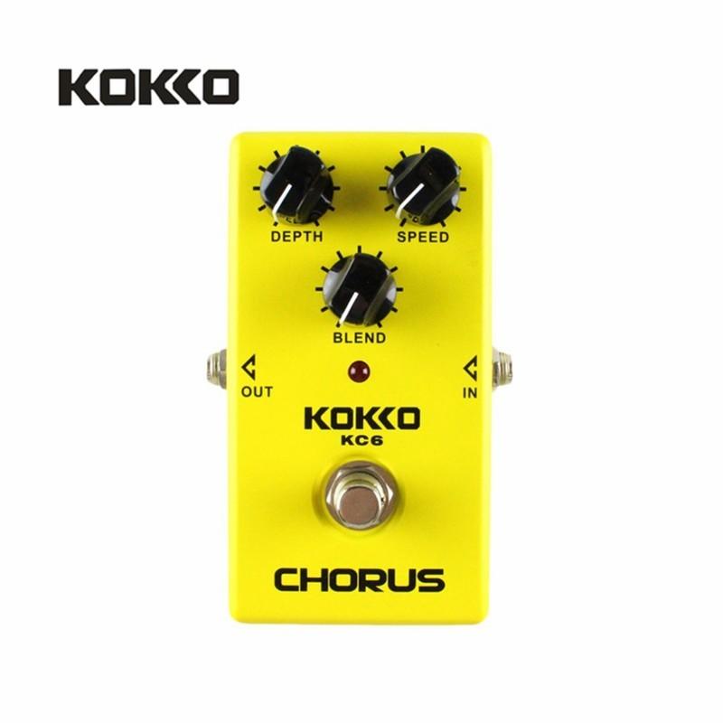 KOKKO KC06 Guitar Bass Điện Tác Dụng Bàn Đạp Điệp Khúc Tiếng Ồn Thấp ĐẦM BBD Thực Qua Mặt Chuyên Nghiệp Guitarra Bàn Đạp Tác Dụng Prats Phụ Kiện- quốc tế