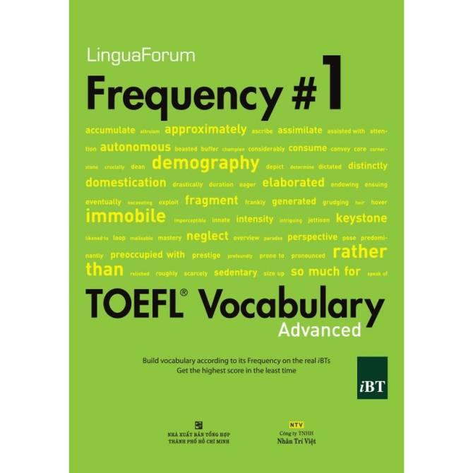 Hình ảnh LinguaForum Frequency #1 TOEFL Vocabulary Advanced (kèm CD)