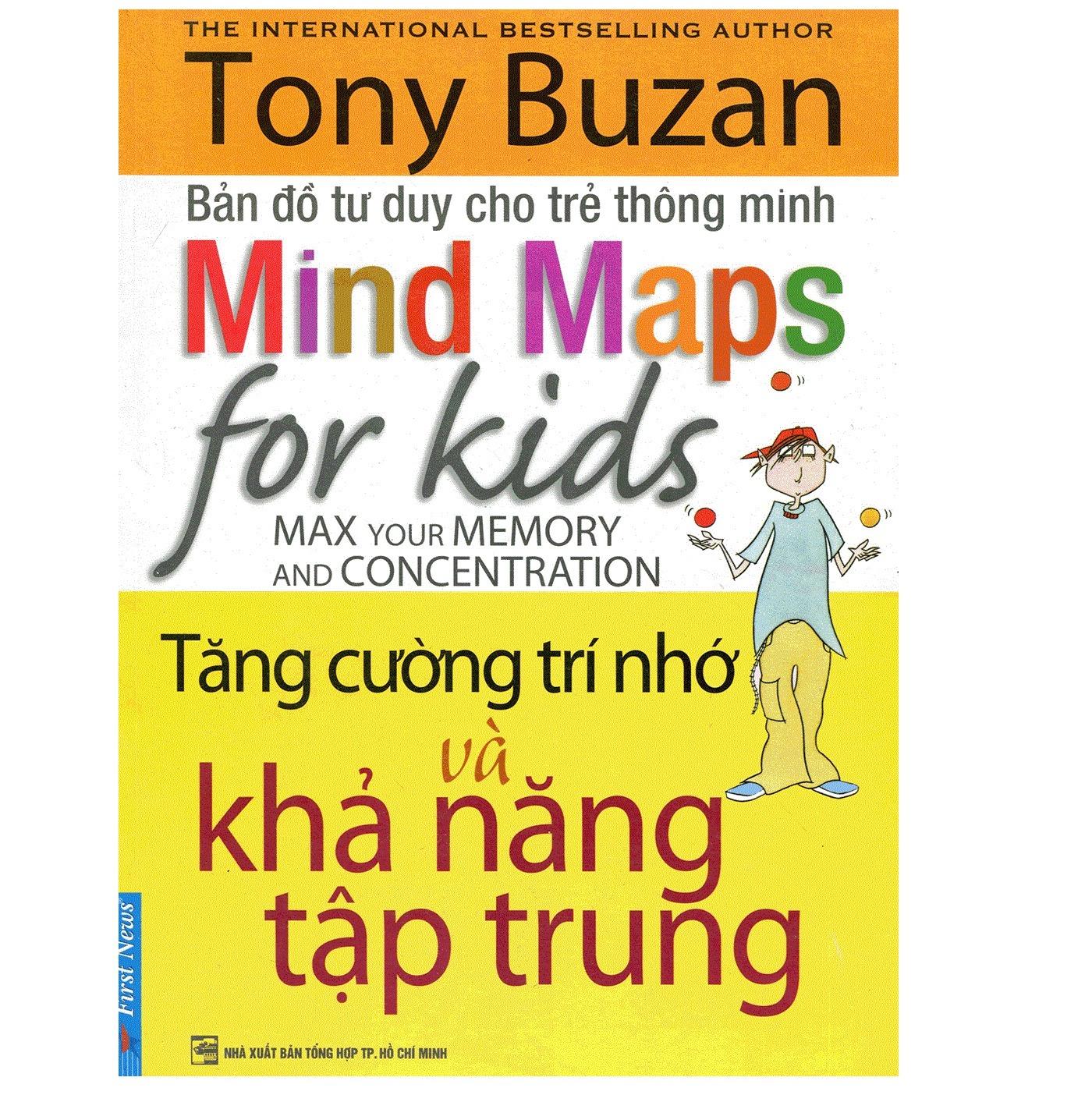 Coupon Khuyến Mại Mind Maps For Kids - Tăng Cường Trí Nhớ Và Khả Năng Tập Trung