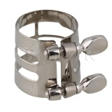 Chiết Khấu Nickel Plated Sax Alto Saxophone Ligature Nickel
