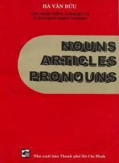 Mua Nouns Articles Pronouns - Hà Văn Bửu
