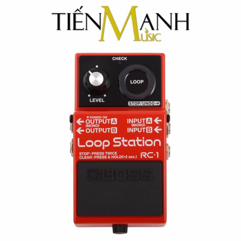 Phơ Guitar tạo vòng lặp Boss Loop Station RC-1 (Bàn đạp Looper Fuzz Effect Pedal)