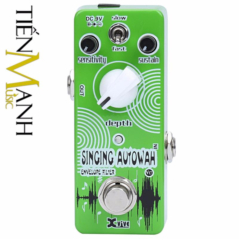 Phơ Guitar Xvive Analog Singing Autowah V17
