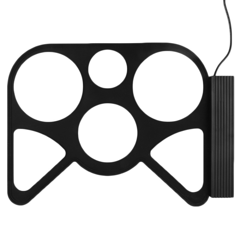 Portable USB PC Desktop Electronic Roll Up Drum Pad Kit Set Drum Sticks Foot Pedal - intl