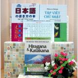 Giá Bán Sach Học Chữ Cai Tiếng Nhật Trọn Bộ 4 Cuốn Nguyên