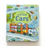 Bán Sach Lật Giở Tiếng Anh Look Inside Cars Usborne Rẻ