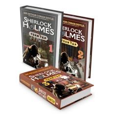 Mua Sherlock Holmes Toàn Tập - Trọn Bộ 3 Tập (Bìa cứng)