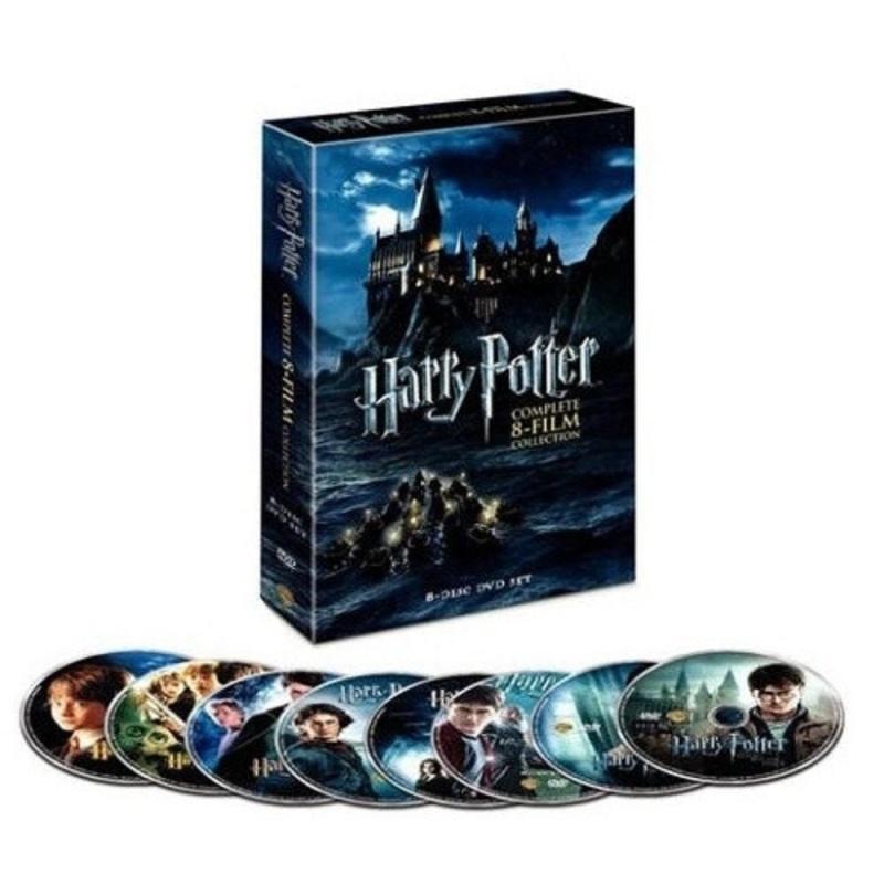 SOBUY Harry Porter (1-7) Series DVD, 8 Đĩa Hộp Bộ Phim-intl