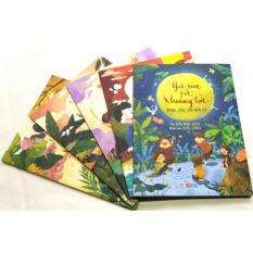 Mua Tập thơ Góc Sân Và Khoảng Trời - Trần Đăng Khoa - Trọn bộ 5 cuốn sách tranh - NXB Huy Hoàng