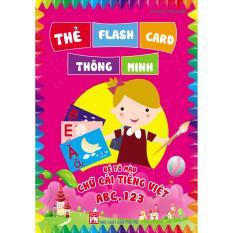 Mua thẻ  học vui cùng bé - bé tô màu chữ cái tiếng việt ABC,123 (túi )