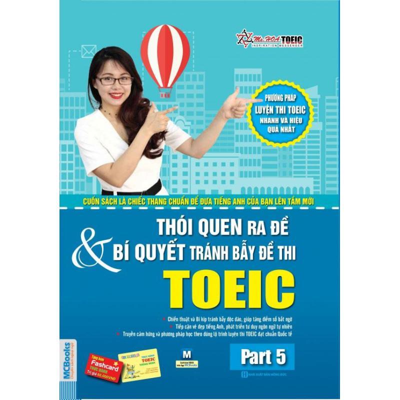 Mua Thói quen ra đề & bí quyết tránh bẫy đề thi TOEIC part 5