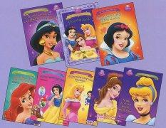 Mua Bộ sách Tô Màu Cùng Công Chúa (Disney Princess) - Trọn bộ 8 cuốn - NXB Kim Đồng
