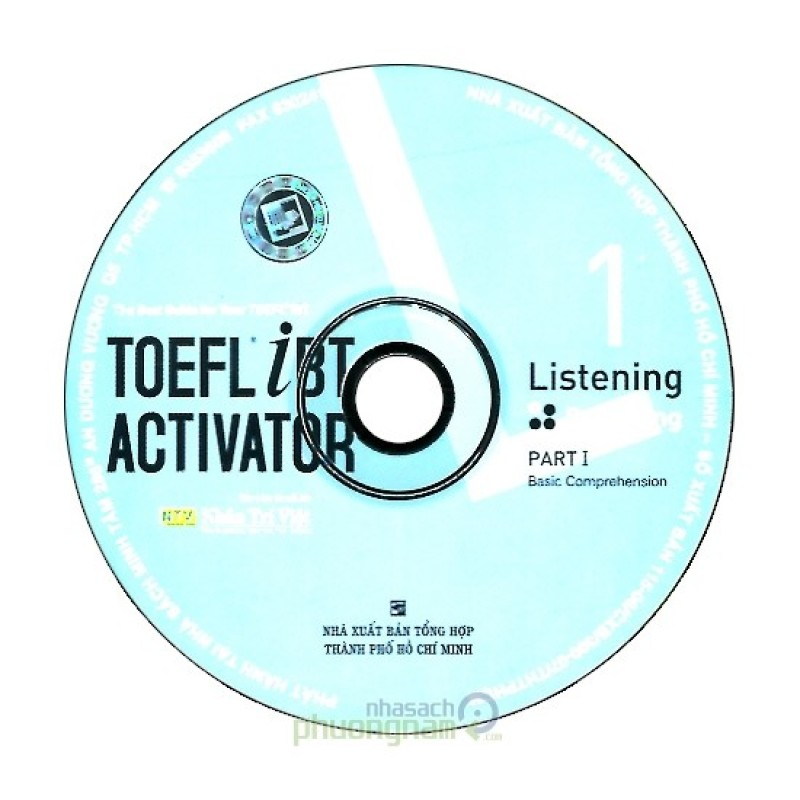Toefl iBT Activator - Listening 1 (3 CD)