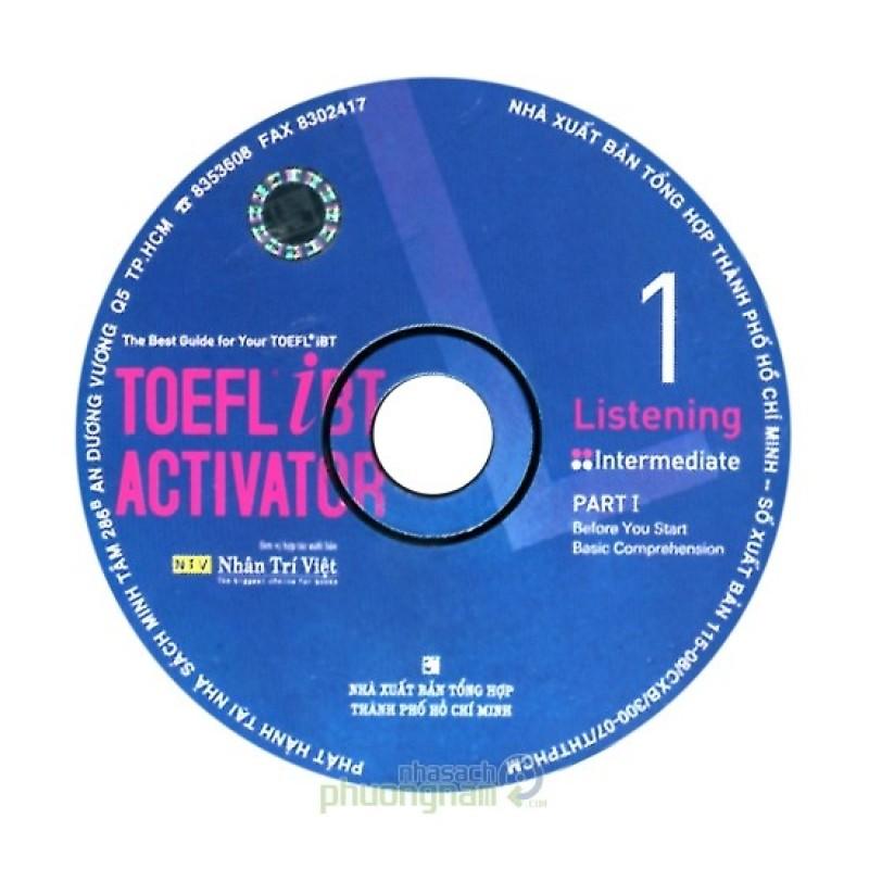 Toefl iBT Activator - Listening 1 (CD)