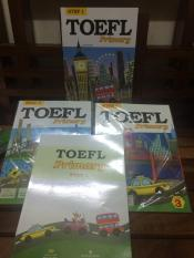 Mua Toefl Primary Step 1 book1,2,3 + Toefl Primary step 1 practice test