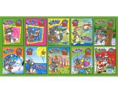 Mua Tom và Jerry tô màu cấp độ vừa - Bộ 10 cuốn