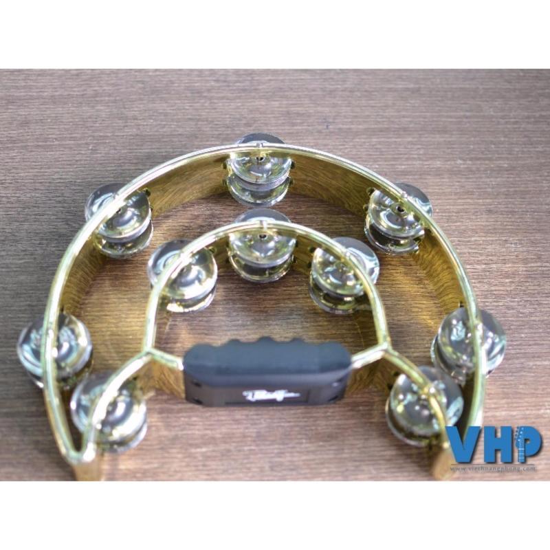 Trống lắc tay Tambourine Tony(Vàng) - Việt Hoàng Phong