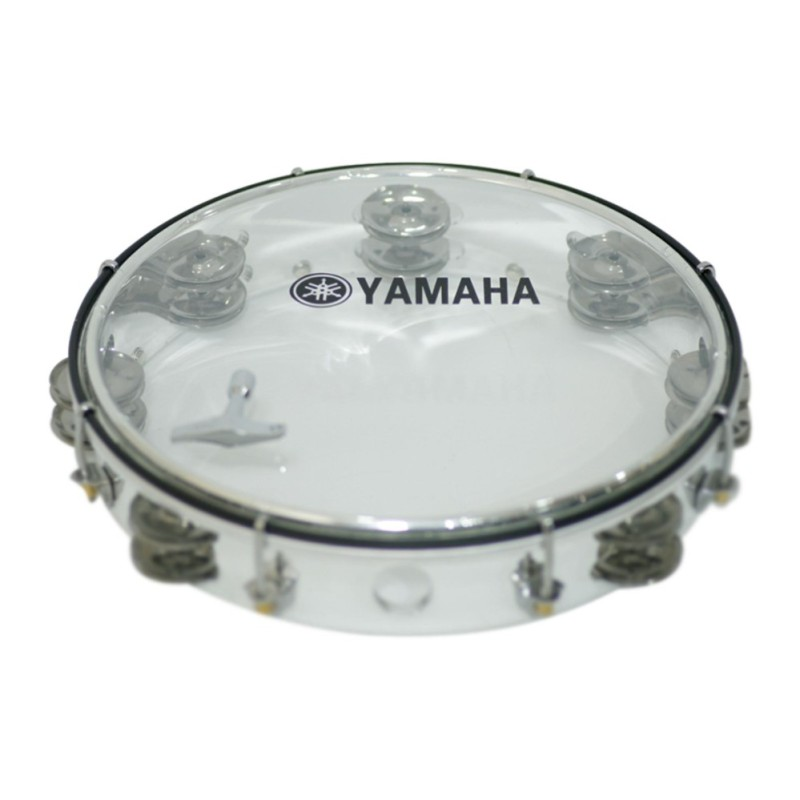 Trống lắc tay Tambourine YMH MT6-102A (Trắng)