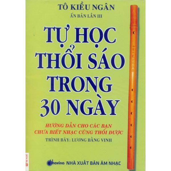 Mua Tự Học Thổi Sáo Trong 30 Ngày (Kèm CD)