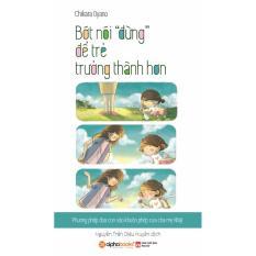 Mua Tủ sách Nhật dành cho phụ huynh Việt - Bớt nói đừng để trẻ trường thành