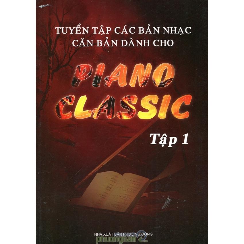 Mua Tuyển Tập Các Bản Nhạc Căn Bản Dành Cho Piano Classic - Tập 1