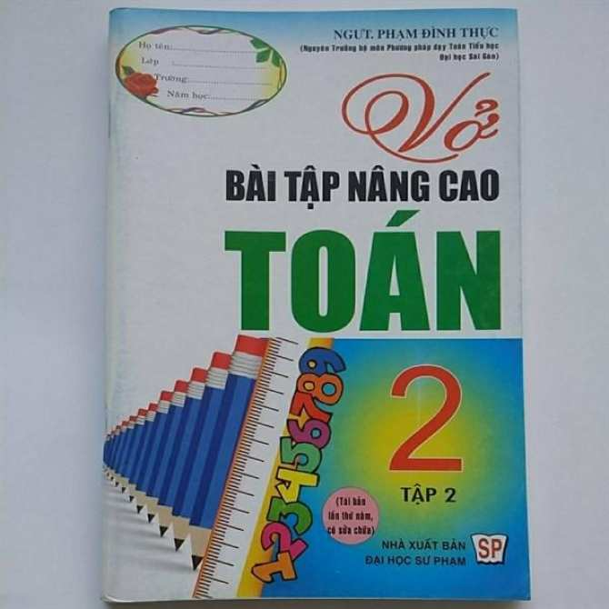 Vbt Nâng Cao Toán 2/2 (T70)