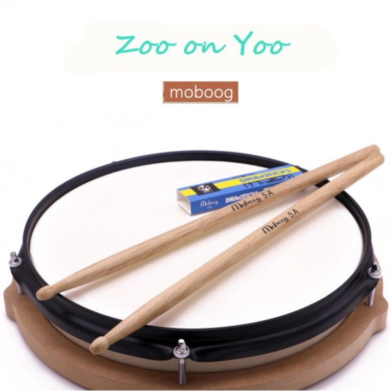 Zoo on Yoo 1 Pair oak Wood 5A Drum Sticks Jazz Drumsticks Shelf Drum Stick Model 5A - intl