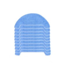 10pcs Replacement Pad Cleaning Mop for ILIFE T4 X620 X623 Robot Vacuum Cleaner - intl