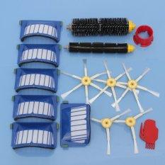 Hình ảnh 15 cái Bàn Chải + tặng Bộ Lọc Cho iRobot Roomba 600 Series 610 620 650 Một Phần Bụi-quốc tế