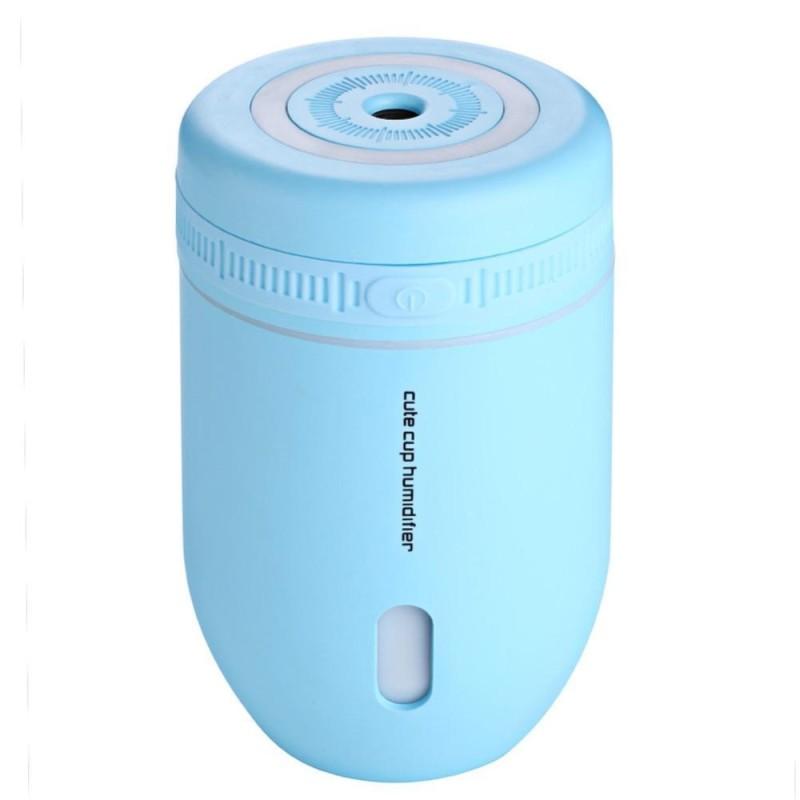 Bảng giá 220 ml Xe Nhà USB Siêu Âm Tắt Tiếng Máy Phun Sương Tạo Độ Ẩm Đêm Đầy Màu Sắc Ánh Sáng Đèn (Xanh Dương)-quốc tế