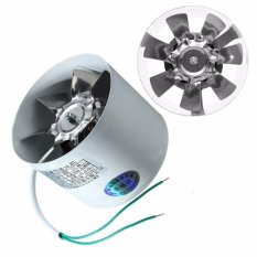 4 Inline Ducting Fan Booster Exhaust Blower Air Cooling Filter Vent Metal Fans - intl