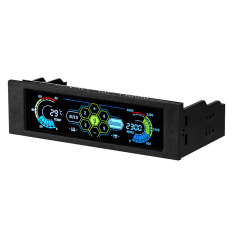 Hình ảnh Màn hình LCD điều chỉnh nhiệt độ quát tự động -Quốc tế