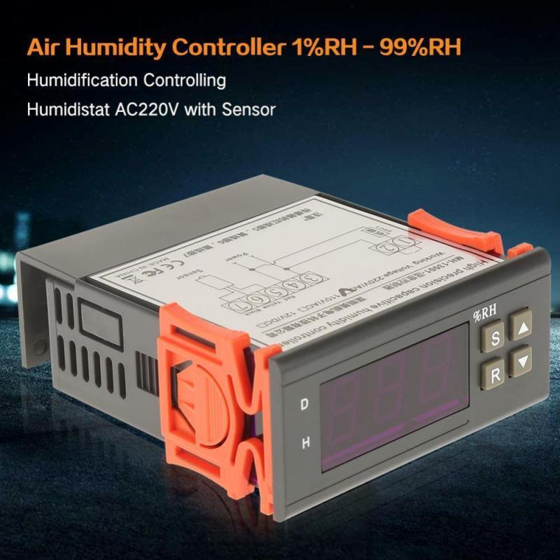 Bảng giá Air Humidity Controller 1%RH - 99%RH Humidification Controlling Humidistat AC220V with Sensor - intl