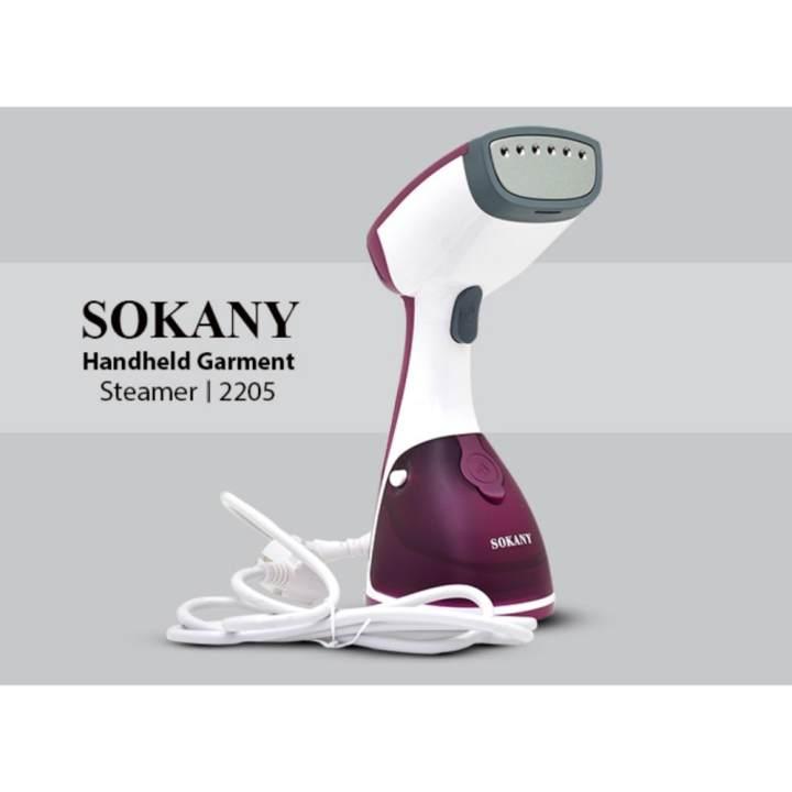Bàn là hơi nước cầm tay công suất lớn Sokany Model ICHIBAI...