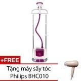 Ôn Tập Ban Ủi Hơi Nước Đứng Philips Gc670 Hồng Đậm Tặng 1 May Sấy Toc Philips Bhc010 Hang Nhập Khẩu Mới Nhất